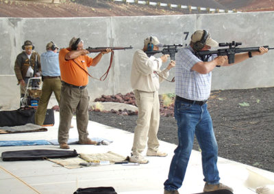 Mountain Riflemen Shooting Group